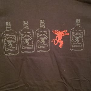 NWOT - Fireball Whiskey T-Shirt (size XL)